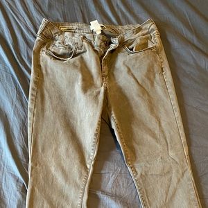 Soft Grey Skinny Pants